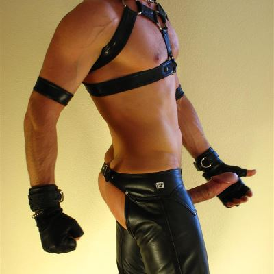 Gay Spandex Lycra Gloves photos